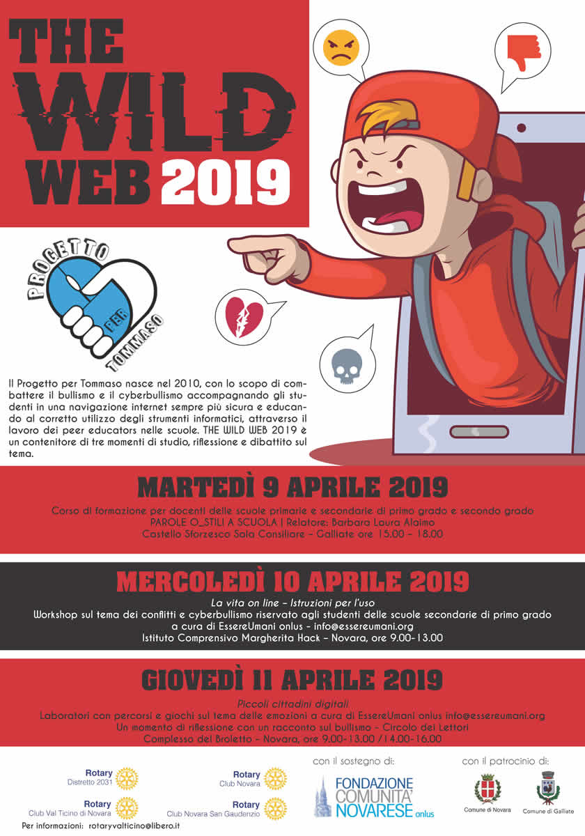 Locandina definitiva The WILD WEB 201946967